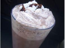 coffee vanilla chocolate smoothie_image