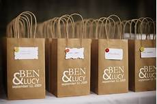 Wedding Gift Bags Ideas a diy fall wedding the sweetest occasion