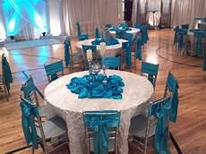 turquoise wedding table decoration ideas uweddings crystal and turquoise wedding