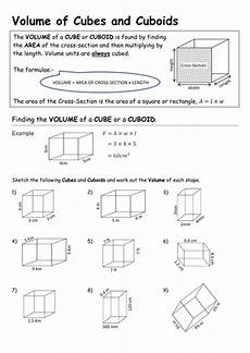 volume of cuboids and triangular prisms teaching resources