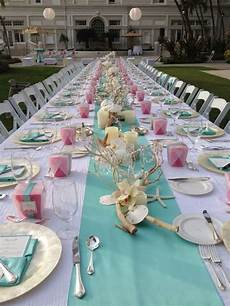 beach bottle sea shell table center pieces tags beach sea shell themes color palettes details