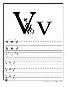 letter v worksheet for kindergarten 23545 learn letter v woo jr activities