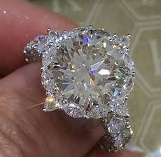 platinum super big diamond ring brilliant cut diamond engagement ring for wedding rings