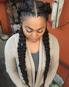 60 easy and showy protective hairstyles for natural hair in 2019 braided hairstyles hair