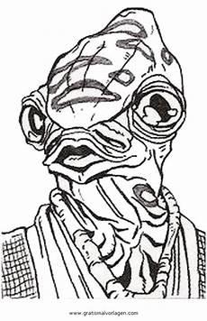 Wars Malvorlagen Gratis Jedi Cilghal Gratis Malvorlage In Science Fiction