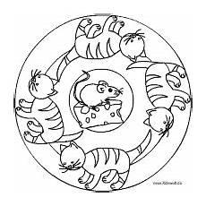 Ausmalbilder Katzen Mandala Katzenmandala Mit Bildern Ausmalbilder Ausmalbilder