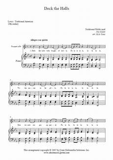 deck the halls trumpet sheetmusic2print com
