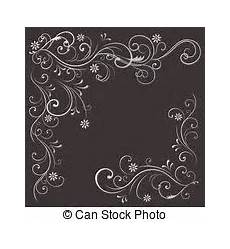 beautiful black and white floral pattern design element many similarities to the author s profile