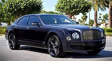 2017 bentley mulsanne sinjari edition by mulliner news