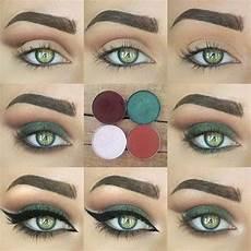 Maquillage Vert Yeux