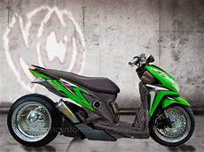 Modifikasi Vario Techno by Modifikasi Honda Vario Techno Drag Thecitycyclist