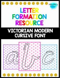 vic cursive handwriting worksheets 22079 vic cursive letter formation posters by miss may s moments tpt