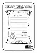 Cool Coloring Pages Letter To Santa Claus No 1
