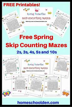 touch math skip counting worksheets 11961 free skip counting worksheets these colorful skip counting mazes help students learn to