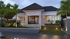 Desain Rumah Villa Satu Lantai Mewah Sobat Interior Rumah