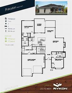 princeton housing floor plans the princeton custom home plan modern home builders