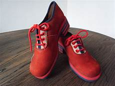 chaussures annees 70 d alby daim chaussures vintage 233 es 70