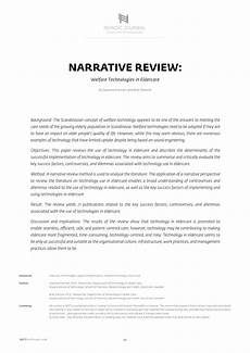 pdf narrative review technologies in eldercare