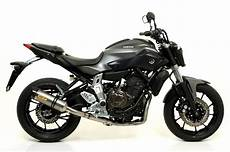 2014 Yamaha Mt 07 Receives Arrow Exhaust Upgrades