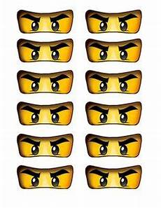Ninjago Malvorlagen Augen Jungen Ninjago Basteln Vorlage Augen Geburtstag