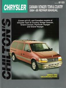 free auto repair manuals 2004 dodge grand caravan electronic toll collection 1984 1995 chrysler town country dodge caravan plymouth voyager chilton manual