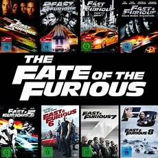 The Fast And The Furious 1 8 Collection Paul Walker