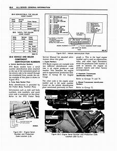 old cars and repair manuals free 1988 buick regal electronic valve timing 1970 buick body service manual maintanece and lube page 10 of 25