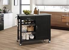 kitchen furniture ottawa acme ottawa kitchen cart in stainless steel black