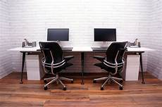 Office Furniture Resale by Herman Miller Side By Side Bench Desk Package Office Resale
