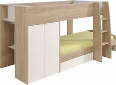 Parisot Stim Bunk Bed With 2 Door Wardrobe The Home And