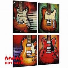 12 Lukisan Abstrak Gitar Gambar Kitan