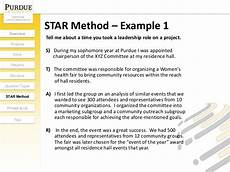resume star method exles acing the interview
