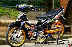 Jupiter Modifikasi by 40 Foto Gambar Modifikasi Jupiter Z Kontes Racing Look