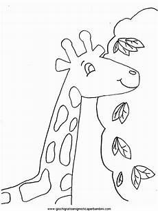 giraffe2 disegni da colorare