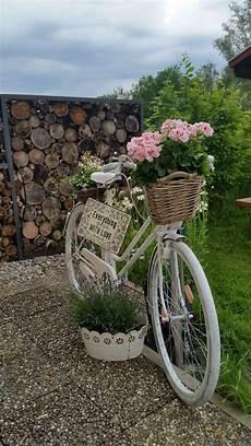 Garten Fahrrad Deko Blumen Bicycle Decor Garden