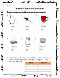 math measurement worksheets grade 4 1528 my math 4th grade chapter 12 metric measurement worksheets