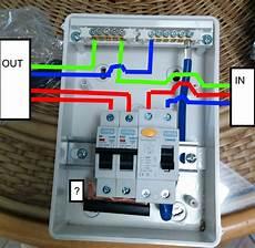 wiring diagram for consumer unit in garage wiring a garage consumer unit t4 in 2019 the unit garage wire