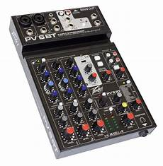 Bluetooth Audio Mixer Bluetooth Connection Audio by Peavey Pv 6bt Stereo Bluetooth Mixer 6 Channel New