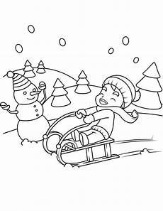 Winter Ausmalbilder Kostenlos Drucken Malvorlagen Winter Zum Ausdrucken