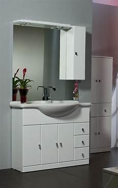 mobile specchio per bagno mobile da bagno per arredo lavabo ceramica laccato bianco