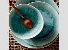 Reactive Glaze Dinnerware Set   Dusty Mint   west elm