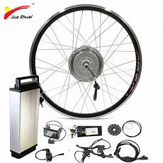 48v 250w 350w 500w front motor wheel with lithium ion