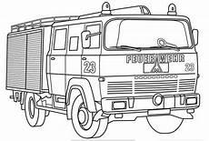 Ausmalbilder Zur Feuerwehr Feuerwehrauto Zum Ausmalen Ausmalbilder F 252 R Kinder