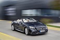 mercedes amg s65 cabriolet breaks cover with an explosive