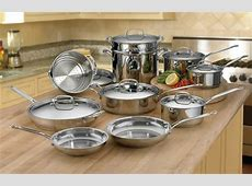 Cuisinart Chef's Classic Stainless Steel Ultimate Cookware