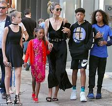 Heidi Klums Kinder - heidi klum steps out with four children in nyc daily