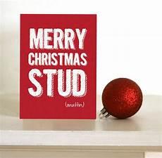 funny christmas card merry christmas stud muffin card for boyfriend husband