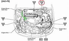 2012 toyota camry engine diagram i recently replaced the cylinder gasket on my 2003 toyota camry 4cyl automatic 2az fe