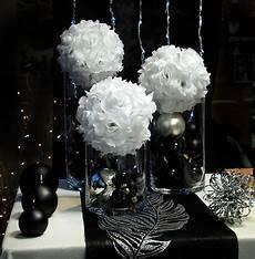 deco chetre anniversaire d 233 coration de mariage en noir et blanc mariage wedding and weddings
