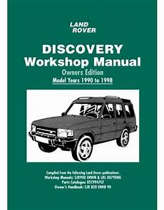 free service manuals online 2007 land rover discovery electronic valve timing land rover discovery owners edition workshop manual 1990 1998 book ebay